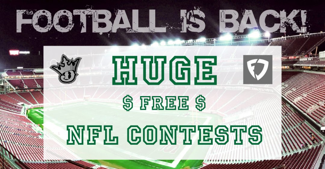 NFL Free DFS Contests - Week 1